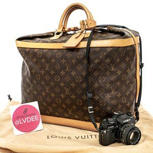 LOUIS VUITTON Cruiser 45 Huge Travel Bag - WOW!